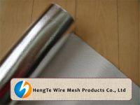 Aluminum Foil Fiberglass Cloth | Aluminum Foil Fiber Glass Mesh