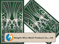 Perforated Metal Sheet for Door Application