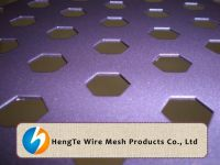 Perforated Metal Sheet With Coating