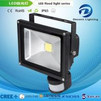 LED Sensor Flood Light Outdoor Yard Garden Square Security Aluminum Lamp Sensor High Power Projector Light