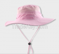 Wholesale Leisure Custom Bucket Hat with Printed Logo