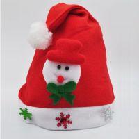 Wholesale Good Quality Plush Unique Christmas Santa Hat For Girls & Women