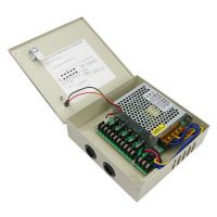 centralized power supply box access control system power supply 5CH CCTV camera power supply