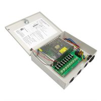 9 CH CCTV camera power supply switching power supply AC to DC power supply