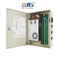 240W 18 channels centralized power supply box for cctv