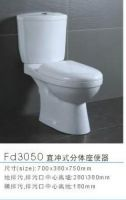 Two Piece Toilet Seat