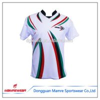 2017 Free hot design style professional printed rugby jersey with low price forsale sportsuits