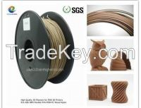 wood 3D filament 1.75/3.0m factory directorly sale