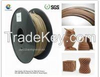 wood 3D filament 1.75/3.0m factory directorly sale