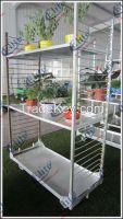 Qingdao Danish flower cart, Flower transportation trolley, CC container trolley