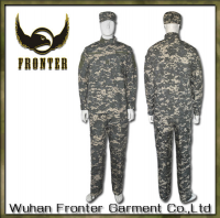 China Manufacturer Wholesale ACU Army Camouflage Pants Jackets Tactical Military Uniform