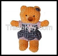 Plush Toy  Gold Ribbon as Nice Gift for Baby Kids