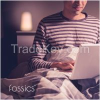 Fossics 2 in 1 Bedside Lamp and Flashlight Focus LED Night Light