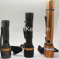 LEDT6 Handheld Flashlights&Lamp, Camping Torch, Adjustable Focus Zoom Tactical Light Lamp