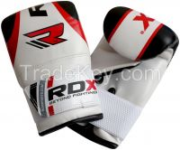 RDX Gel Pro Bag Mitts Boxing Gloves MMA UFC Muay Thai Training Grappling Punch W