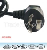 China Standrad 2/3 pin plug power cord