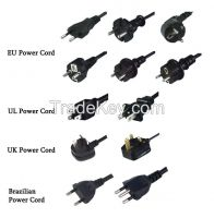 Standrad power plug wire / cable