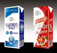 Complete Aseptic Brick Carton Fresh Uht Milk Produce Plant