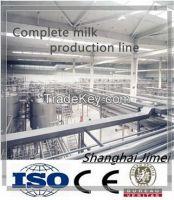 Complete Automatic Milk Production Line