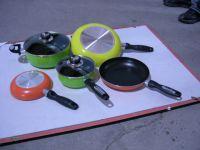 7pcs cookware ( frypan,casserole,saucepot,saucepan)