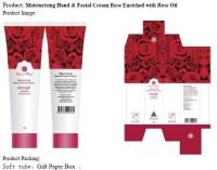 Moisturising Hand & Facial Cream Rose Enriched with Rose Oil
