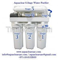 Aquaclear Home Water Purifier R. O. + UV System 6- Stage's