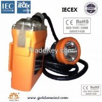 LED cap lamp, outdoors lamp, mining lamp, helmet lamp, emergency light