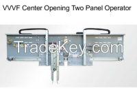 2 Panels Center Opening Door Operator ,Mitsubishi Type Elevator Automatic Sliding Doors for Passenger Lift/VVVF Center Opening Elevator Door Operator