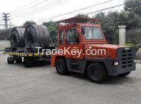 50 ton Industrial  Flatber Full  Trailer  Truck Trailer