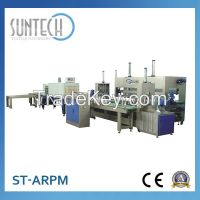 Suntech CE Approved Automatic Fabric Roll Shrink Packing Machine