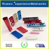 High Quality Factory Directly Supply Custom Metal Powerbank Cover