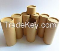 Factory cheap kraft paper t-shirt paper tube packaging