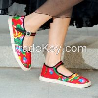 Chinese Cloth Shoes Women 1
