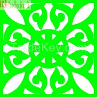 Grass Green Engarved Aluminum Panel for Cladding