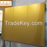 Golden Color Aluminum Assemble Flatness Plate