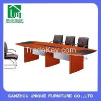 Luxury Panel+wood veneer Wooden Conference Table