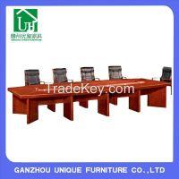 Durable Customized Veneer Conference Meeting Room Desk