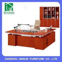 Latest MDF wooden executive modern office table boss Desk