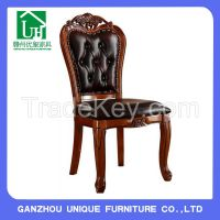 Classic Leather Dining Chairs