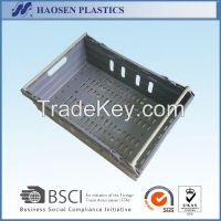 Factory new design plastic crate for fruit sale