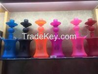 high quality  glass shishahand blown glass hookah with beautiful colour