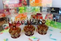 high quality  glass shishahand blown glass hookah for smoking