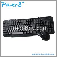 2016 Customized Wireless Keyboard and Mouse Combo with High Quality
