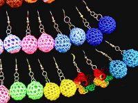 Peruvian Weaved Earrings Thread