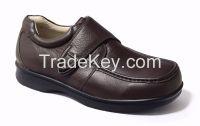 Comfort Tumble Leather Diabetes Shoes Wide Toe Shoes