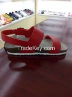 WOMENS LEATHER SHOES WIDE SANDAL