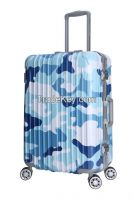 Fashion ABS PC hardshell travel luggage set 8056
