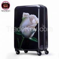Fashion ABS PC hardshell travel luggage WAO53