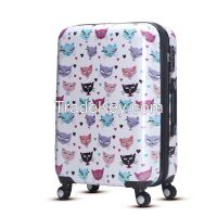 Spinner wheel hardside abs pc luggage set for traveling