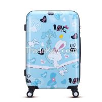 2016 New fashion printing hard abs pc travel bags from WAO